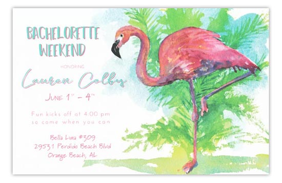 3A434-flamingo-Tango New Releases from Odd Balls Invitations in Pine Bluff, Arkansas