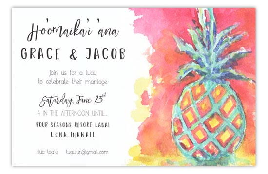 3A435-Tropical-Hospitality New Releases from Odd Balls Invitations in Pine Bluff, Arkansas