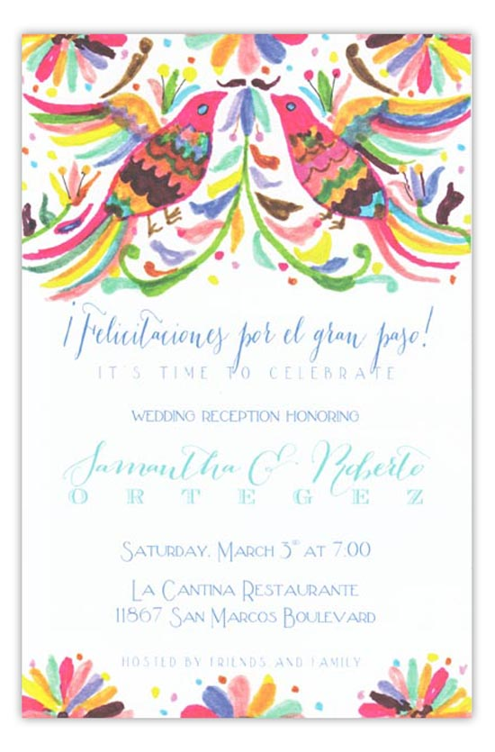3A437-Otomi New Releases from Odd Balls Invitations in Pine Bluff, Arkansas