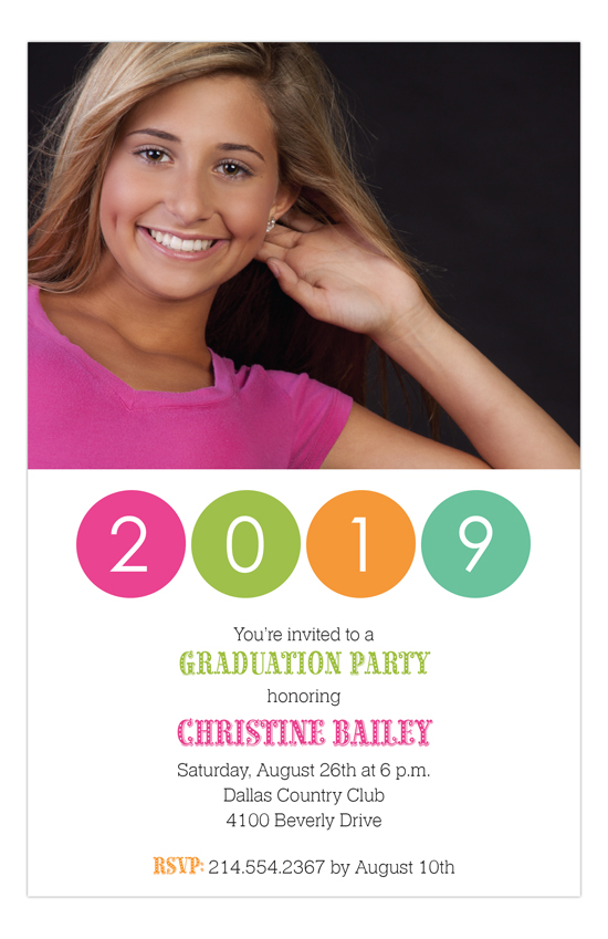 Grad Caps and Diplomas Tutti Graduation Invitations