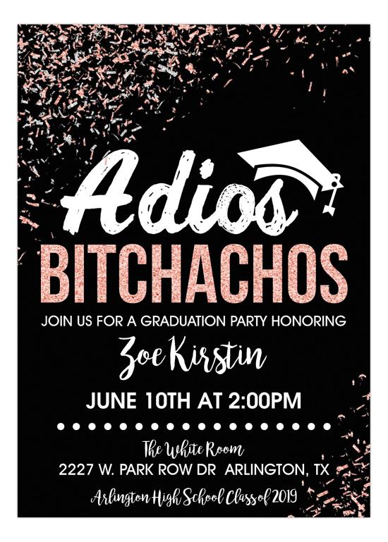 Adios Achos Graduation