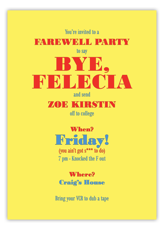 Bye Felecia Farewell Party