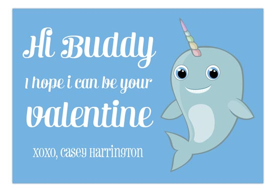 Mr Narwhal Hi Buddy