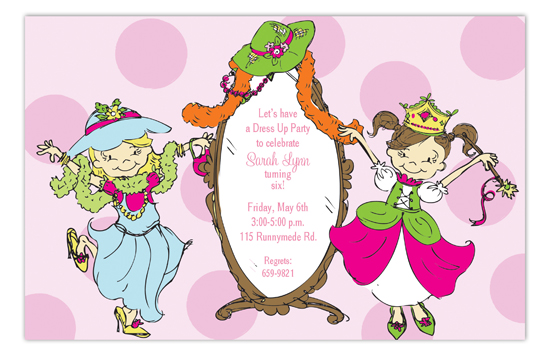 All Dolled Up Invitation