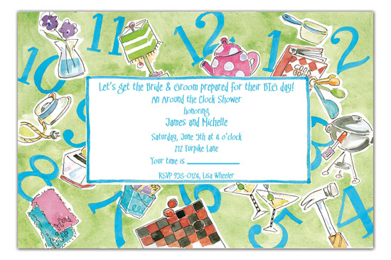 around-the-clock-invitation-picp-21893i Pre Wedding Party Ideas