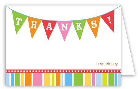 Baby Banner Note Card