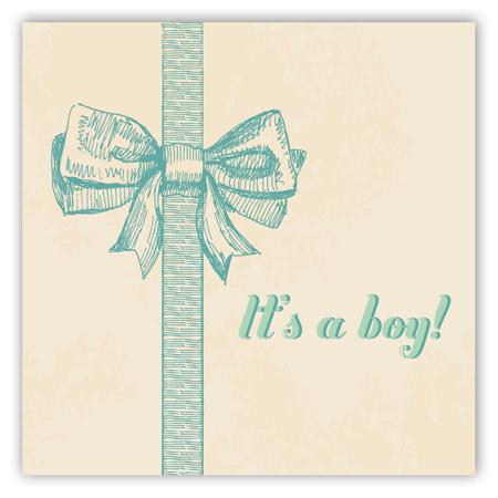 baby-boy-bow-square-sticker-pddd-stsqhc1128 Custom Gift Tags
