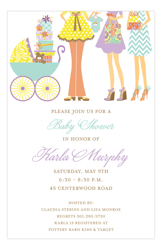 Baby Sprinkling Invitation