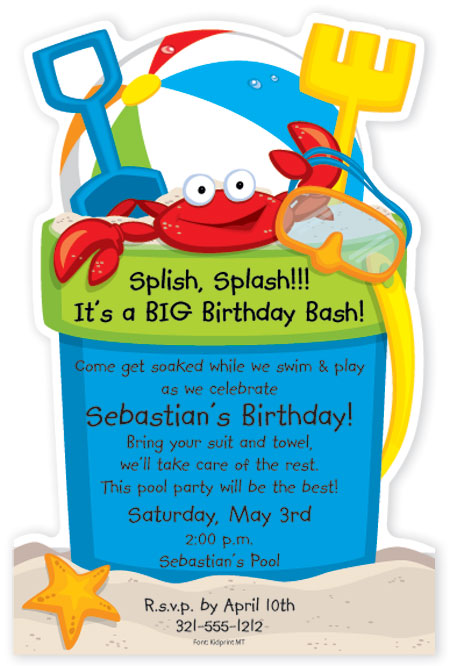 beach-bucket-die-cut-invitation-psp-snd861 Get Ready for the Polka Dot Design Big Clearance Sale!