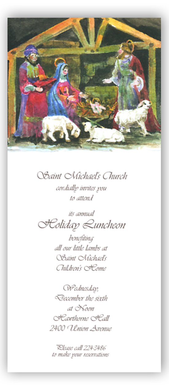 Bethlehem Stable Invitation