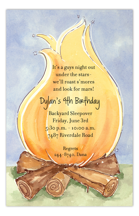 big-campfire-invitation-picpd-np58bd0d12 Girl Birthday Invitations