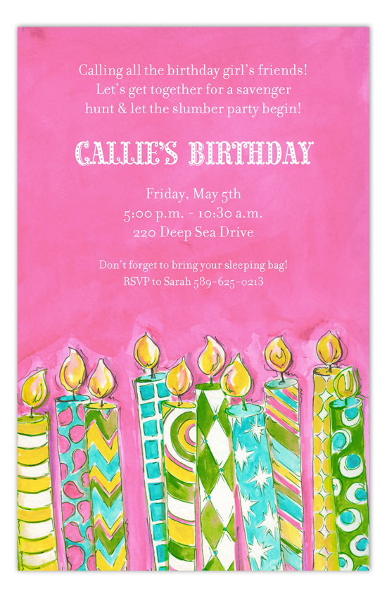Birthday Girl Invitation Picpd Np58bd138kb