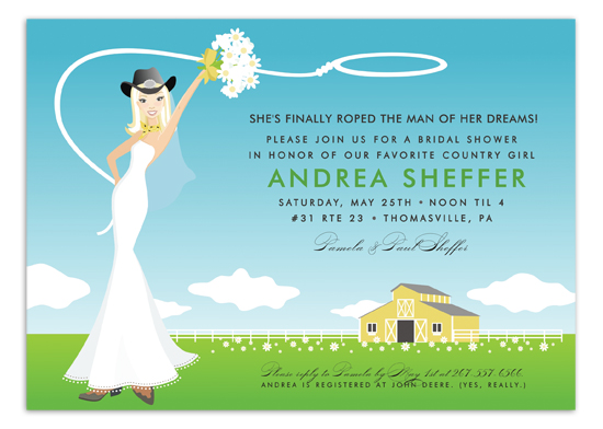 blonde-classic-country-bride-invitation-dm-in268 Get Ready for the Polka Dot Design Big Clearance Sale!