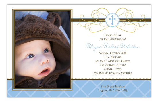 Baptism & Christening Invitations