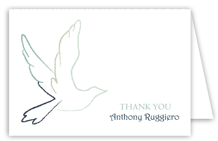Blue Dove Note Card
