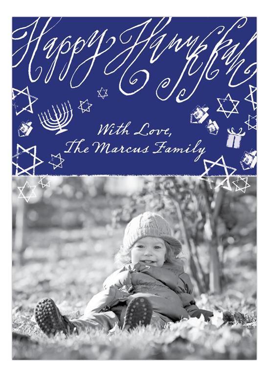 hanukkah photo cards