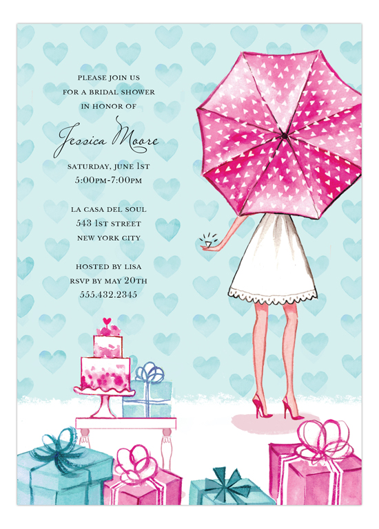 Lovely Bridal Shower Invitation