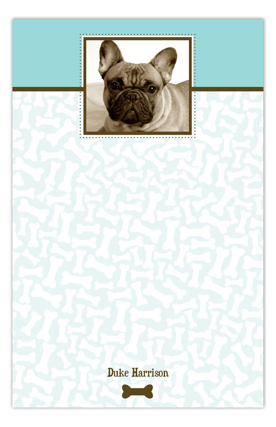 Bones About It Photo Personalized Notepads