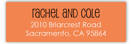 Boo Bash Address Label