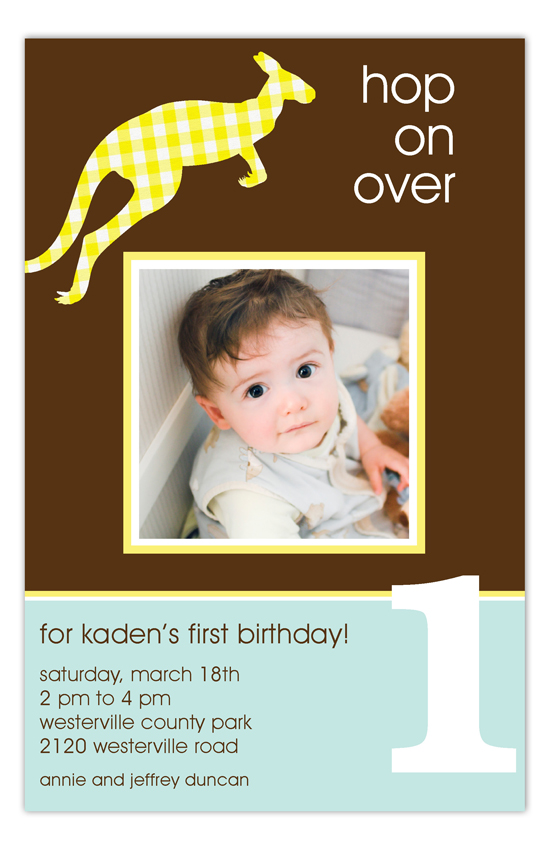 Bouncing Birthday Photo Card