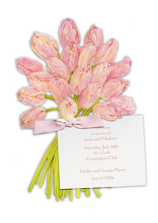bouquet-of-tulips-invitation-slc-ss79 Free Printing Sarah LeClere Invitations - Limited Time Only