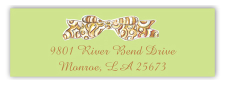 Bows Galore Rectangular Sticker