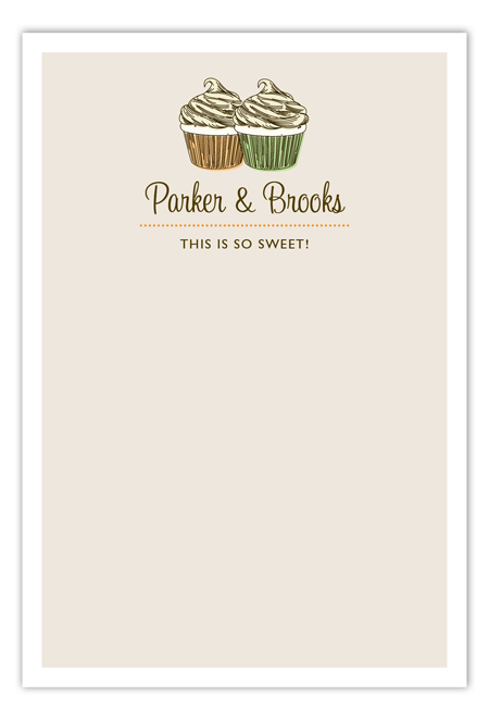 Buckle Up Buttercups Flat Note Card