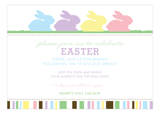 Bunny Love Invitation