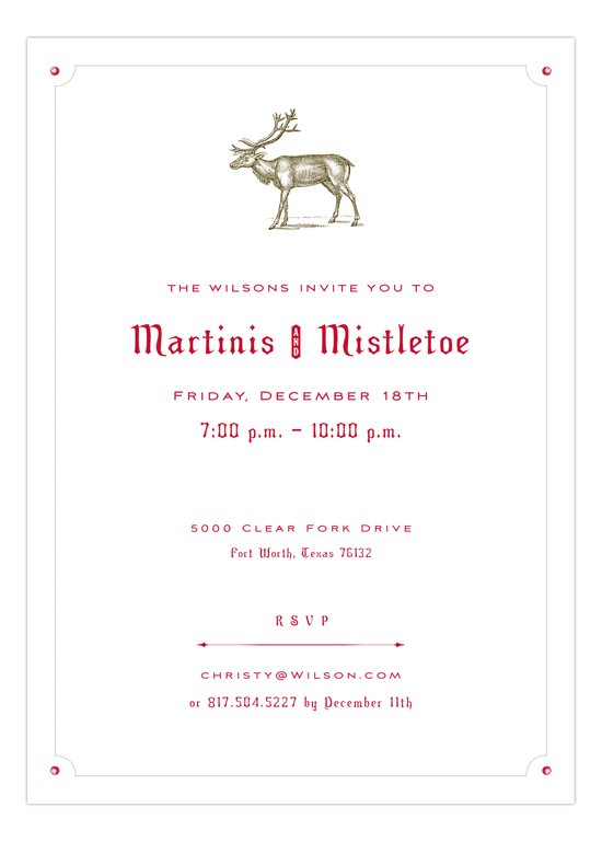 Caribou Invitation