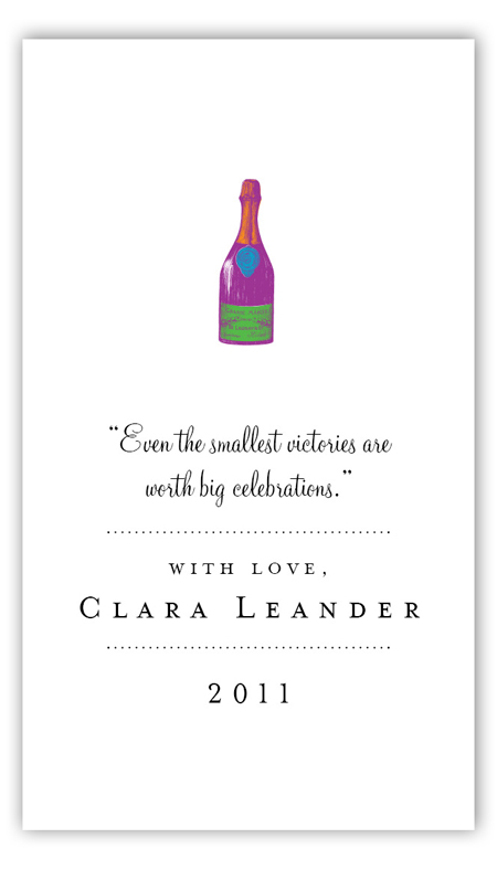 Celebrate In Style Calling Card