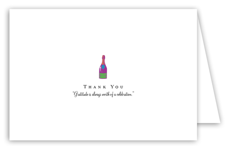 Celebrate In Style Note Card