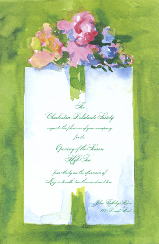 celery-wrap-invitation-ob-3926 Pre Wedding Party Ideas