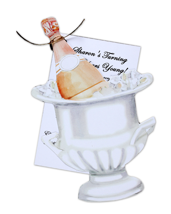Champagne Bucket Invitation