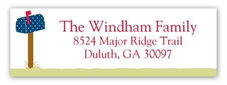 Change of Address Address Label