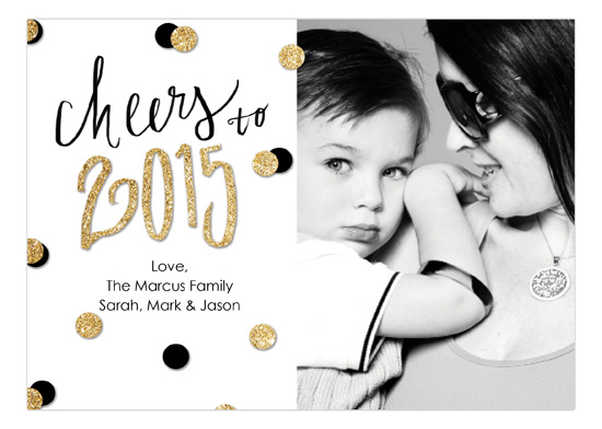 personalized New years Card