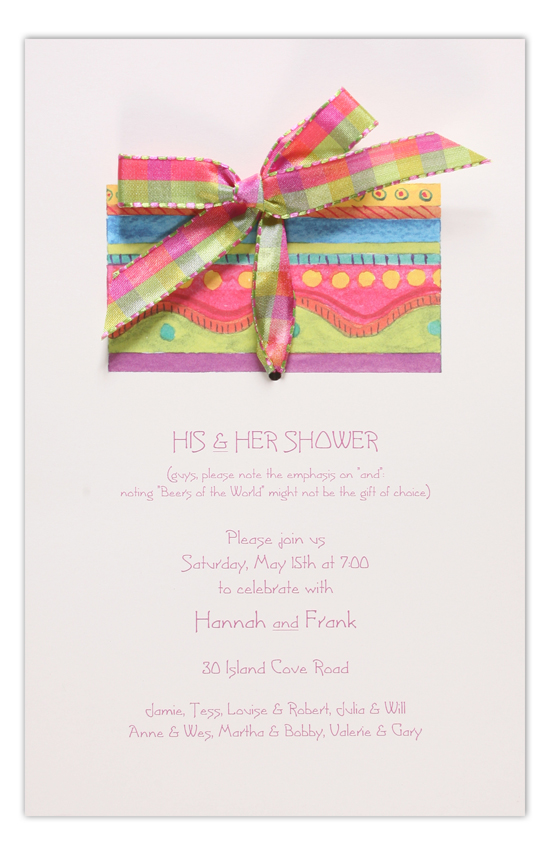 Cheery Gift Invitation