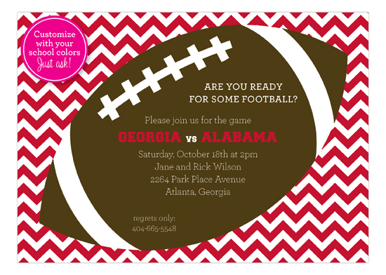 chevron-tailgate-invitation-pddd-np57fh1311 Fall Party Invitations