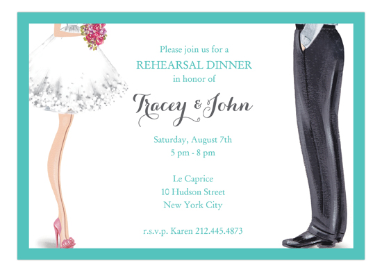Chic Wedding Couple Invitation Couples Shower Invitations