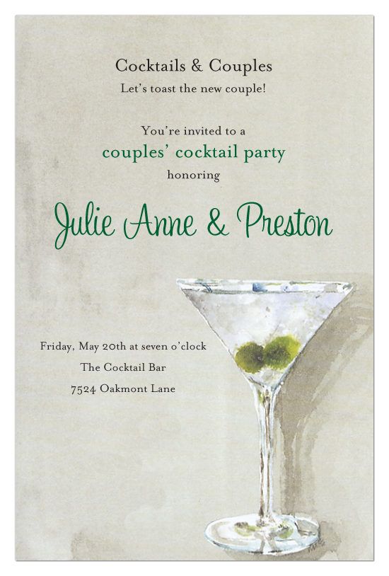 Chilled and Shaken Invitation