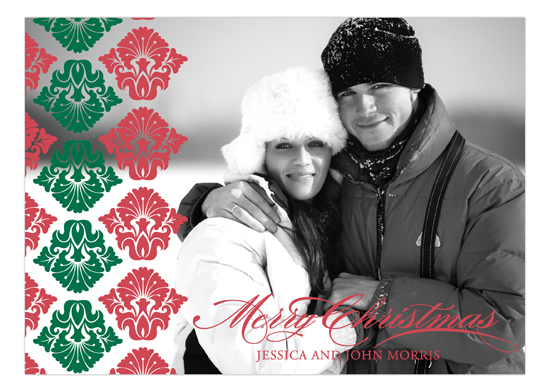 Christmas Flourish Photo Card