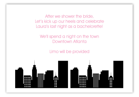 City Scene Enclosure Card