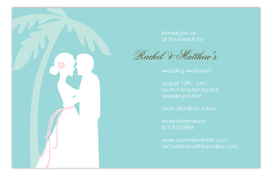 Coastal Couple Invitation