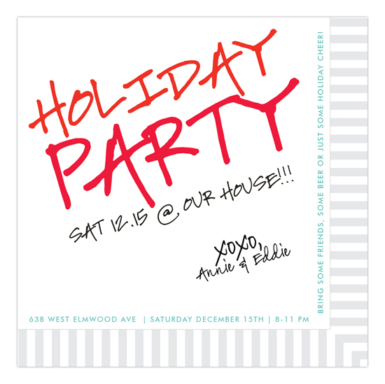 cocktail-napkin-holiday-invitation-dmdd-np55hc1123dmdd How to Throw a Great Holiday Cocktail Party