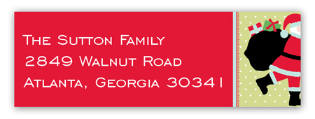 Coming to Town Address Label