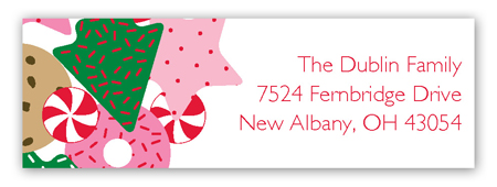 Cookie Exchange Address Label
