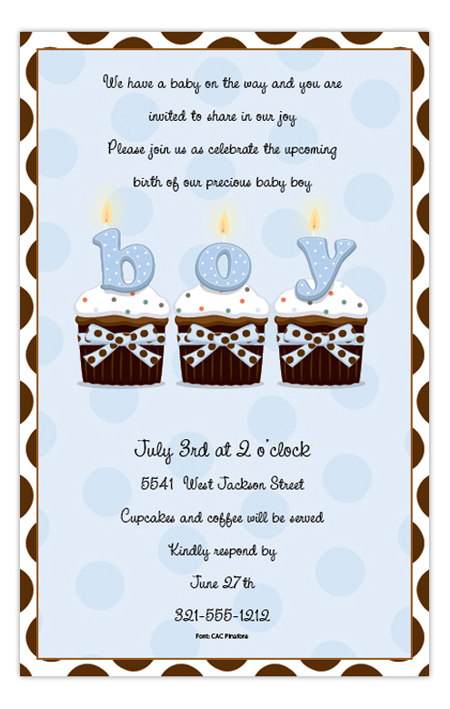 cupcakes-boy-invitation-psp-isn880 Get Ready for the Polka Dot Design Big Clearance Sale!