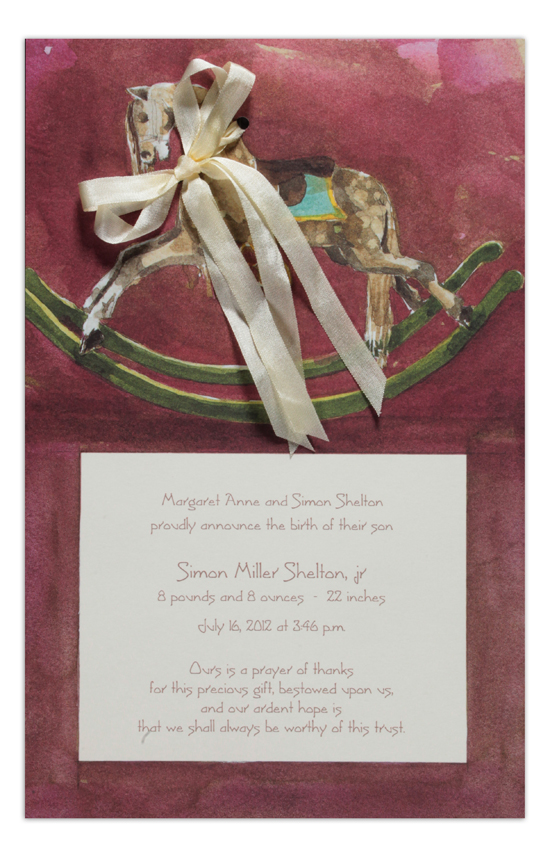 Dappled Steed Invitation