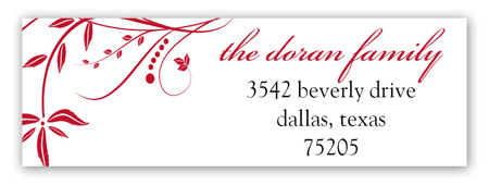 Delight Address Label