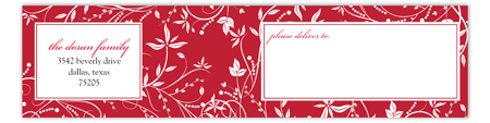 Delight Envelope Wrap Address Label