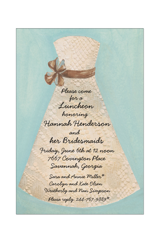 Dress Invitation